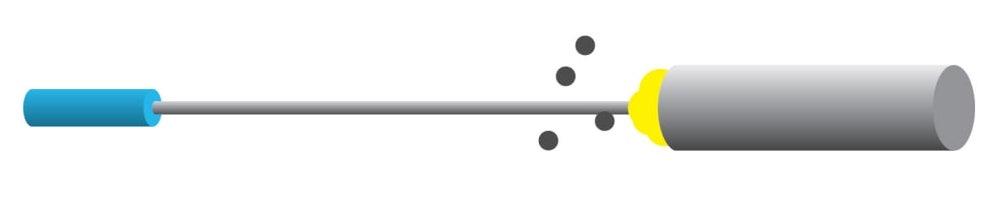 laser evaporation synthesis of carbon nanotubes